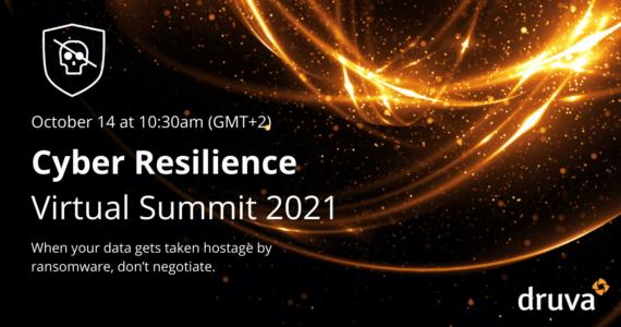 Cyber Resiliece Virtual Summit 2021