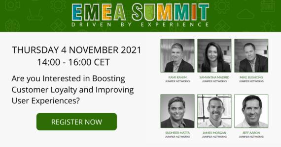 EMEA Summit Driven by Experience NetNordic Denmark